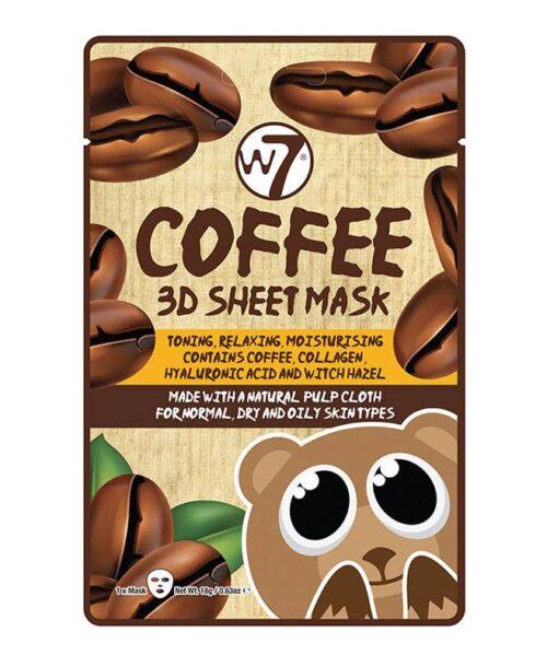 Coffee 3D Sheet Mask