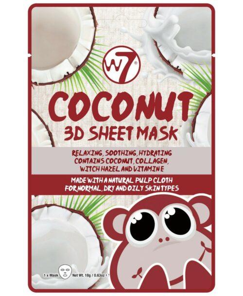 Coconut 3D Sheet Mask