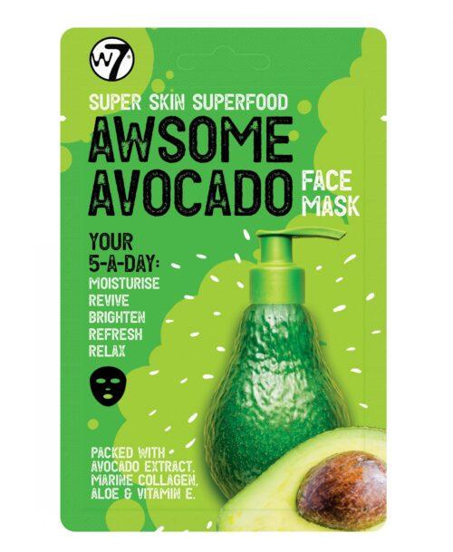 Super Skin Superfood Avocado Gezichts Masker